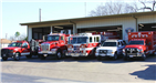 Keene Fire and Rescue Vehicles